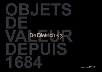 COLECCIÓN 2011 - De Dietrich