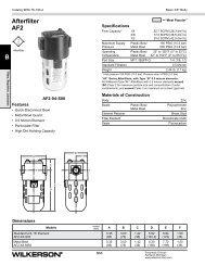 AF2 Series - Wilkerson Corporation