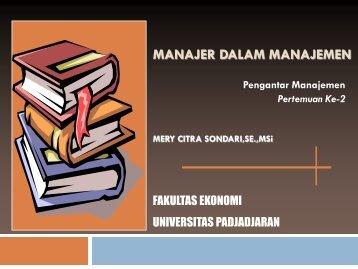 manajer dalam manajemen - Blogs Unpad - Universitas Padjadjaran
