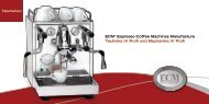 ECM® Espresso Coffee Machines Manufacture Technika IV Profi ...