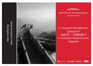 Download Programmflyer - Mountain Management