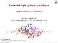 Epistemisk logik og kunstig intelligens