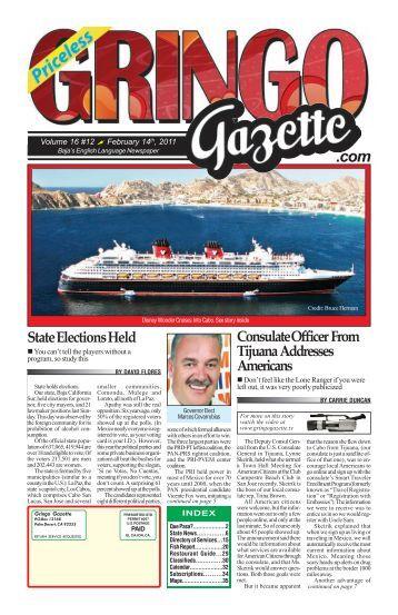 February 14th 2011 - the Gringo Gazette