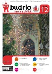 Notiziario comunale del mese ottobre 2012 - Comune di Budrio