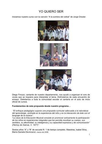 YO QUIERO SER - Uruguay Educa