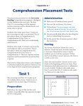 Corrective reading comprehension placement test fandeluxe Image collections