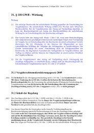 31. § 118 GWB - Wirkung - Oeffentliche Auftraege