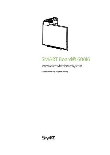 SMART Board 600i5 Interaktivt whiteboardsystem Konfigurations ...