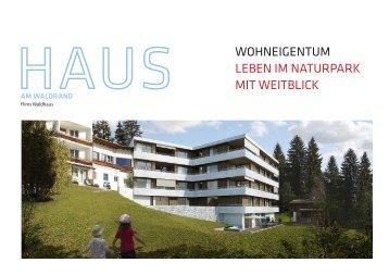 Haus am Waldrand - Hotel am waldrand Flims Waldhaus