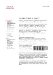Data Sheet Oracle Database Appliance - best Systeme GmbH