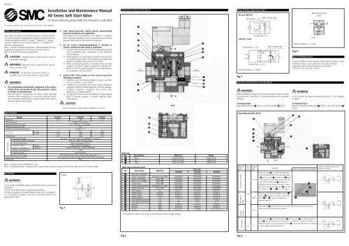 Installation and Maintenance Manual AV Series Soft Start ... on smc plug, smc switch, smc connector,