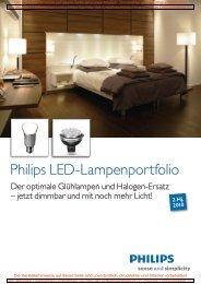 Philips LED-Lampenportfolio - bei • plentino