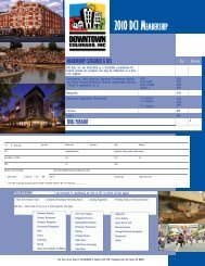 DowntownInstitute2010 Brochure.indd