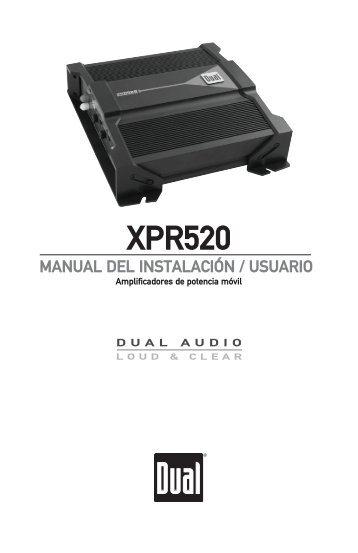 XPR520 - Dual Electronics