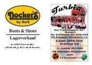 Stadionmagazin 07/2009 Turbine - SG Bruchweiler II