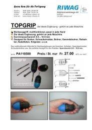 TOPGRIP die ideale Ergänzung an jeder Maschine - Riwag ...