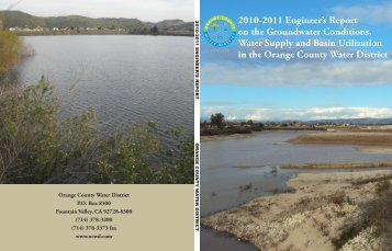 2010.2011 Engineers Report - Orange County Water District