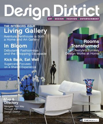Living Gallery - Miami Design District Magazine