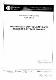 Invest NI Procurement Guidelines - Research
