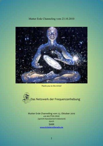 Das Netzwerk der Frequenzanhebung - Indalosia