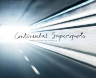 continental supersports | the extreme bentley