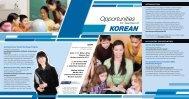 KOREAN - Association of Independent Schools of Western Australia