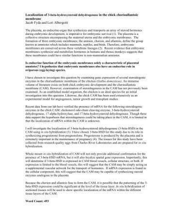 membrane Jacob Fyda and Lori Albergotti - University of Florida