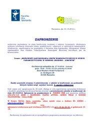 Konferencja Rzeszów 27.10.2012 - POIA