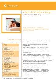 schwere krankheiten vorsorge - WMD Brokerchannel