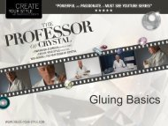 Gluing Basics (PDF, 520KB) - Create Your Style