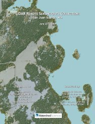 San Juan Islands, WA - Puget Sound Lidar Consortium