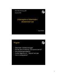 (Microsoft PowerPoint - Sikkerheden i eksisterende byggeri ...