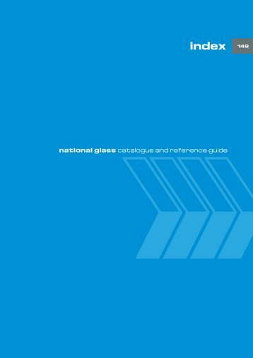 national glass catalogue and reference guide