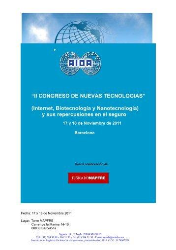 Programa II Congreso NT - Aida.org.uk