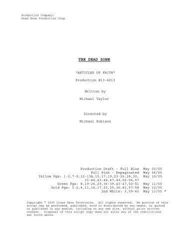 13-4013 Final Shooting Script.scw