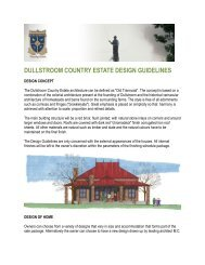 DULLSTROOM COUNTRY ESTATE DESIGN GUIDELINES