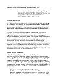 Spiellandschaft Bremen - Kinderfreundliche Stadtgestaltung