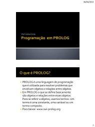 Programação em PROLOG - Hudson Costa
