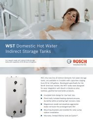 WST Domestic Hot Water Indirect Storage Tanks