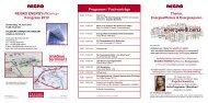 Kongress 2012 Programm / Fachvorträge - Regro