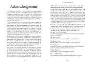 Acknowledgements & appendices - Source