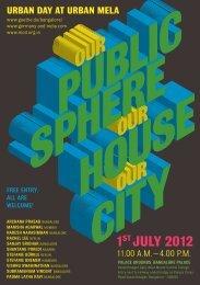 Urban Day Flyer - MOD Institute