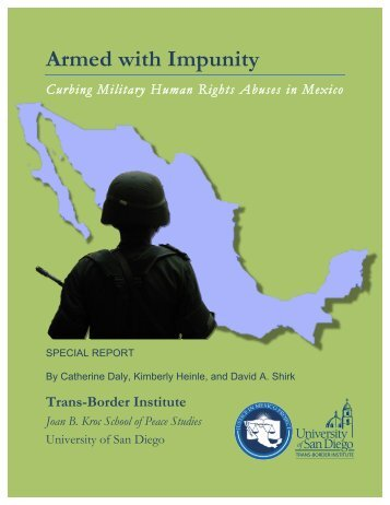 Armed with Impunity - Justice in Mexico