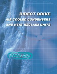 See specifications - Kool-Air inc.