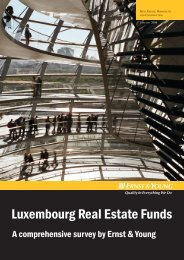 Luxembourg Real Estate Funds: A Comprehensive Survey