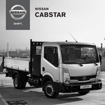 Preisliste Nissan Cabstar