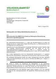 vom 9. August 2012 - Volkssolidarität Bundesverband e.V.