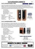 HI-FI SPEAKER CABINETS SUMMER SALE ! - Henry's Electronics - Page 2
