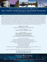 Type 2 Diabetes, Insulin Resistance and Metabolic ... - GOLD