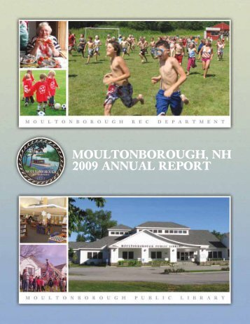 Annual Report - Town of Moultonborough New Hampshire